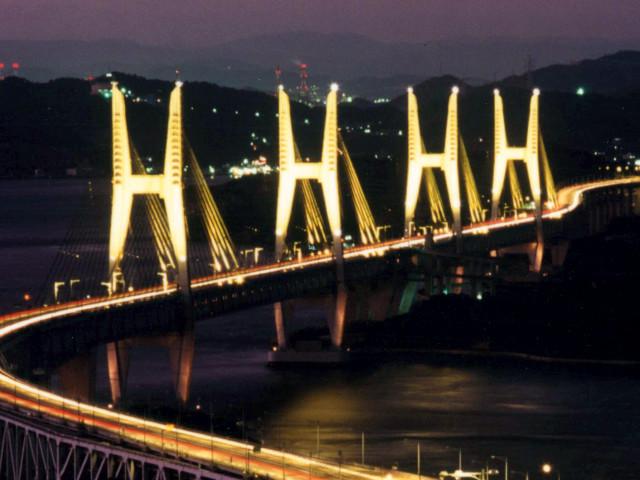 海峡大橋、大鳴門橋、瀬戸大橋 ...