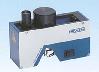 wedge cut-style coating thickness measurement device