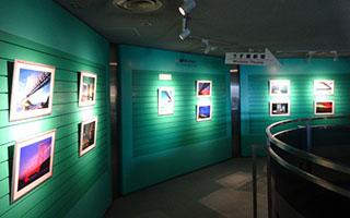 徳島県立大鳴門橋架橋記念館 3階 ギャラリー