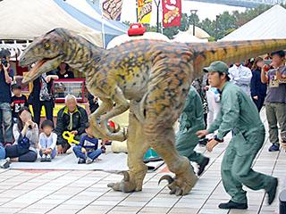 リアル恐竜体験ライブショー