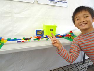 さかいで塩まつりの写真:レゴブロックコーナー
