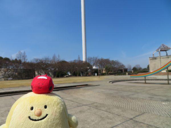 瀬戸大橋記念公園です。大きいなあ。