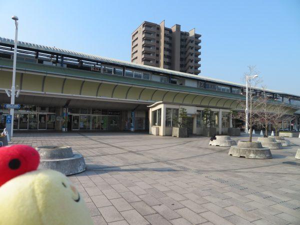 坂出駅です