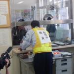 伯方島料金所で防犯訓練を行いました