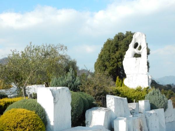 大理石のオブジェ