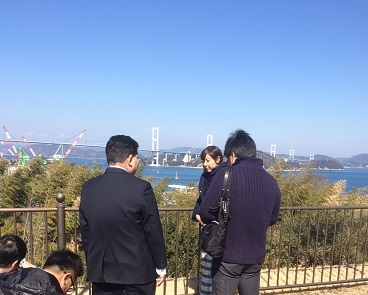 「しまなみ海道ウルトラクイズ」の撮影風景②