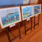 「第9回平山郁夫美術館賞絵画コンクール」入選作品等を展示します。