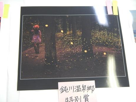 鈍川温泉郷特別賞 タイトル 「姫蛍舞う」