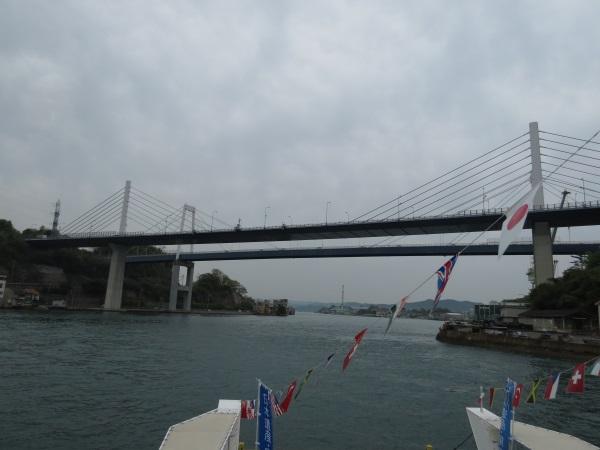 クルージング(新尾道大橋と尾道大橋)