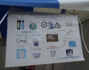 環境に配慮したゴミの分別表