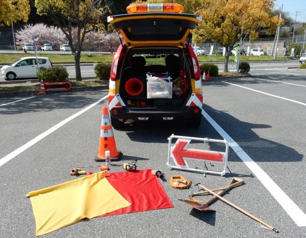 道路巡回車装備品