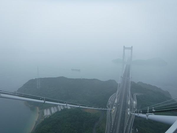 当日の塔頂からの景色はこんな感じです