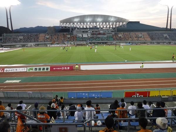 J2「愛媛FC」VS「ファジアーノを観戦」