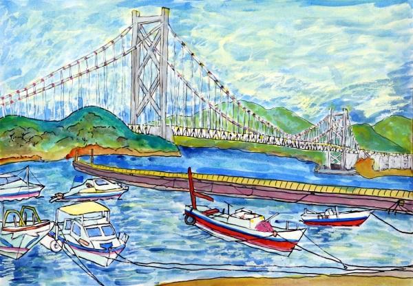 「因島大橋が見えるお気に入りの場所」