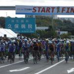 「えひめ国体」大三島で自転車ロード・レース大会が開催されました。