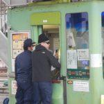因島北料金所で防犯訓練を実施しました