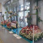 来島海峡サービスエリアに「花の大型オブジェ」展示中!